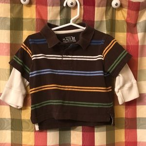 6-9 month Children's Place shirt